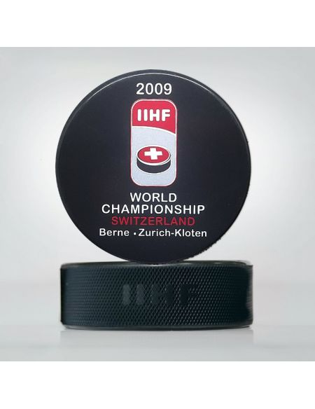 World Championship 2009 Switzerland puck WCS2009 Home KHL FAN SHOP – hockey fan gear, apparel and souvenirs