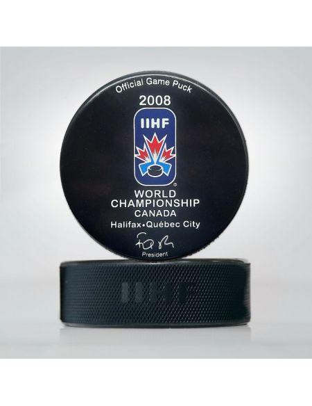 Шайба Чемпионат мира 2008 Канада WCC2008 Главная КХЛ ФАН МАГАЗИН – фанатская атрибутика, одежда и сувениры