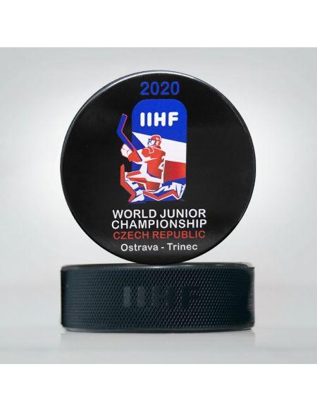 Шайба Молодежный Чемпионат мира 2020 Чехия JWCC2020 Главная КХЛ ФАН МАГАЗИН – фанатская атрибутика, одежда и сувениры
