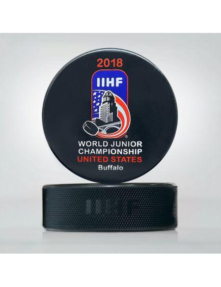 Шайба Молодежный Чемпионат мира 2018 США JWCU2018 Главная КХЛ ФАН МАГАЗИН – фанатская атрибутика, одежда и сувениры