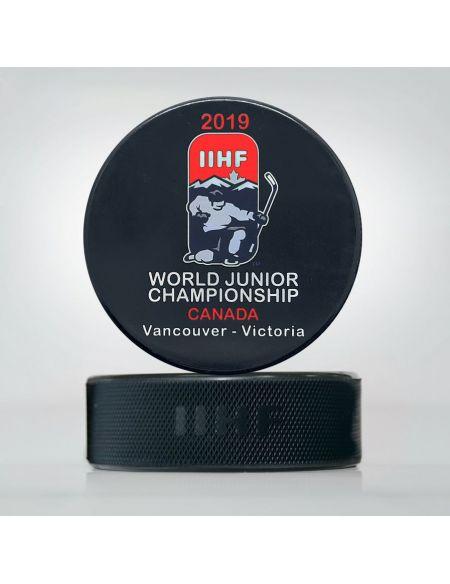 Шайба Молодежный Чемпионат мира 2019 Канада JWCK2019 Главная КХЛ ФАН МАГАЗИН – фанатская атрибутика, одежда и сувениры