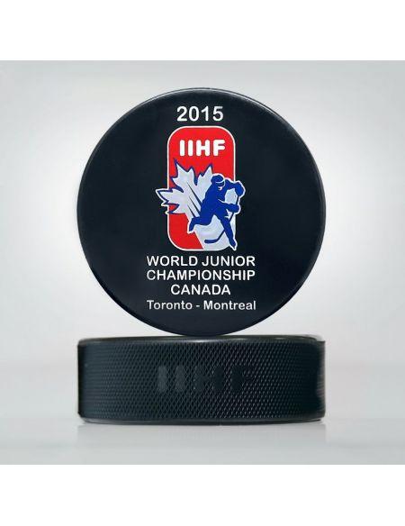 Шайба Молодежный Чемпионат мира 2015 Канада JWCK2015 Главная КХЛ ФАН МАГАЗИН – фанатская атрибутика, одежда и сувениры