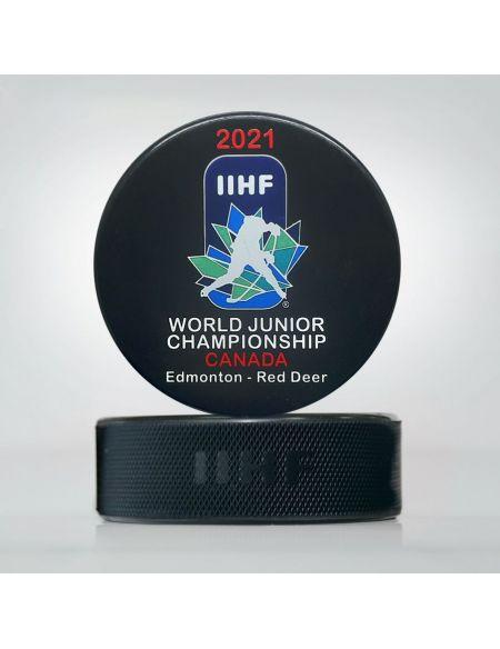 Шайба Молодежный Чемпионат мира 2021 Канада JWCK2021 Главная КХЛ ФАН МАГАЗИН – фанатская атрибутика, одежда и сувениры