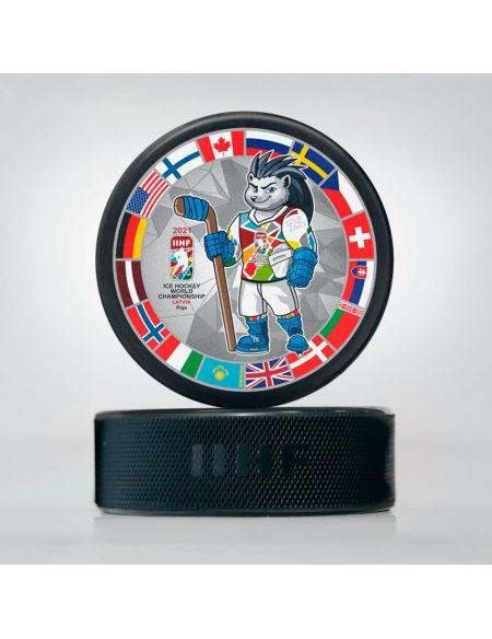 Шайба Чемпионат мира 2021 Латвия WCSW2021 Главная КХЛ ФАН МАГАЗИН – фанатская атрибутика, одежда и сувениры