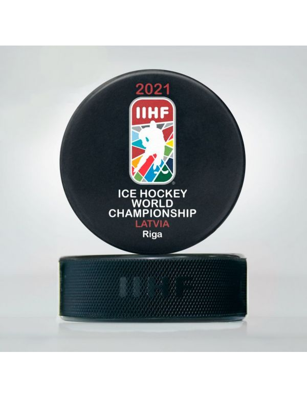 World Championship 2021 Latvia puck WCS2021 Home KHL FAN SHOP – hockey fan gear, apparel and souvenirs
