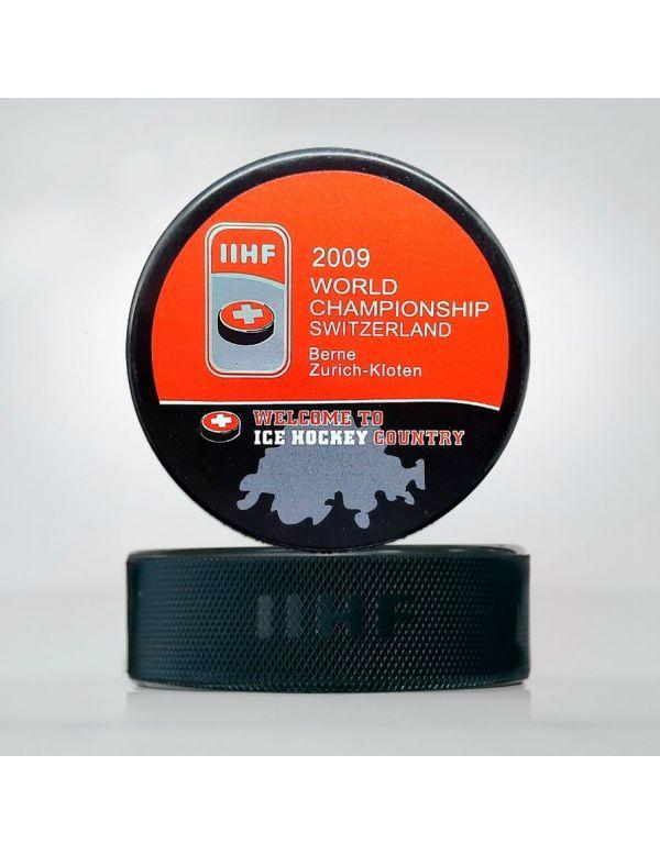 World Championship 2009 Switzerland puck WCS2009 Home KHL FAN SHOP – hockey fan gear, apparel and souvenirs