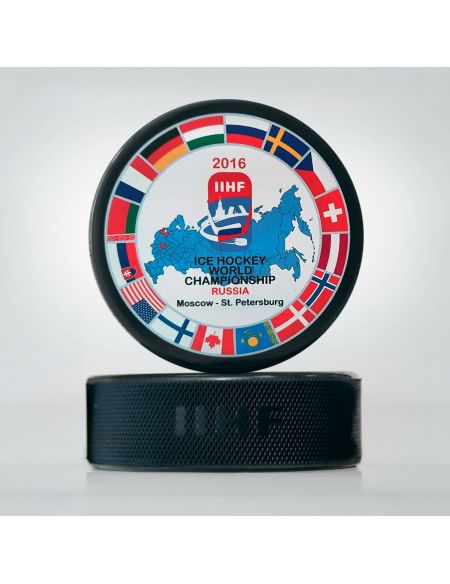 Шайба Чемпионат мира 2016 Россия WCRS2016 Главная КХЛ ФАН МАГАЗИН – фанатская атрибутика, одежда и сувениры