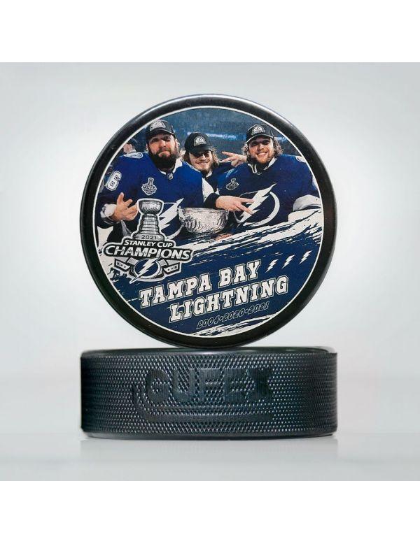 Puck NHL Tampa Bay Lightning TBL-04 Pucks KHL FAN SHOP – hockey fan gear, apparel and souvenirs