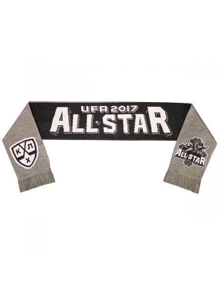 Scarf KHL All Star Ufa AS17001 Уфа 2017 KHL FAN SHOP – hockey fan gear, apparel and souvenirs