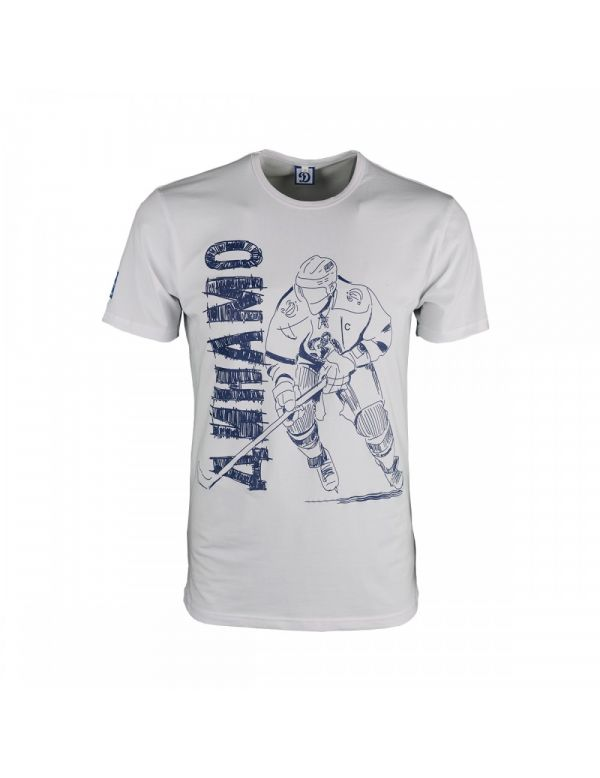 T-shirt Dynamo Moscow NDM56 Dynamo Msk KHL FAN SHOP – hockey fan gear, apparel and souvenirs