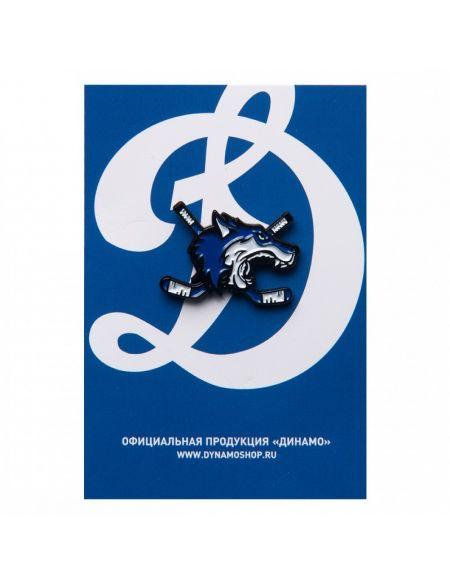 Значок Динамо Москва  Значки КХЛ ФАН МАГАЗИН – фанатская атрибутика, одежда и сувениры